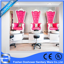Reina trono silla del salón sillas <span class=keywords><strong>de</strong></span> <span class=keywords><strong>pedicura</strong></span> <span class=keywords><strong>spa</strong></span> <span class=keywords><strong>de</strong></span> china al por mayor