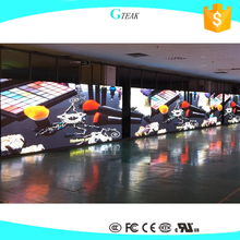 free sample indoor 3mm led video wall/ stage background