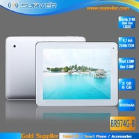 Slim 9.7 inch Rockchip 3188 2048*1536 Quad Core Android 4.2 Tablet Pc