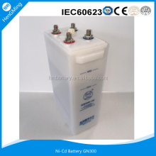 Ni-Cd Railway Battery/ NI-CD BATTERY GN300- (3) for Metro, Subway, Railway Signaling.