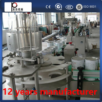 Auomatic tin can meat capping machine