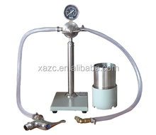 Portable drilling fluid wet sieve instrument