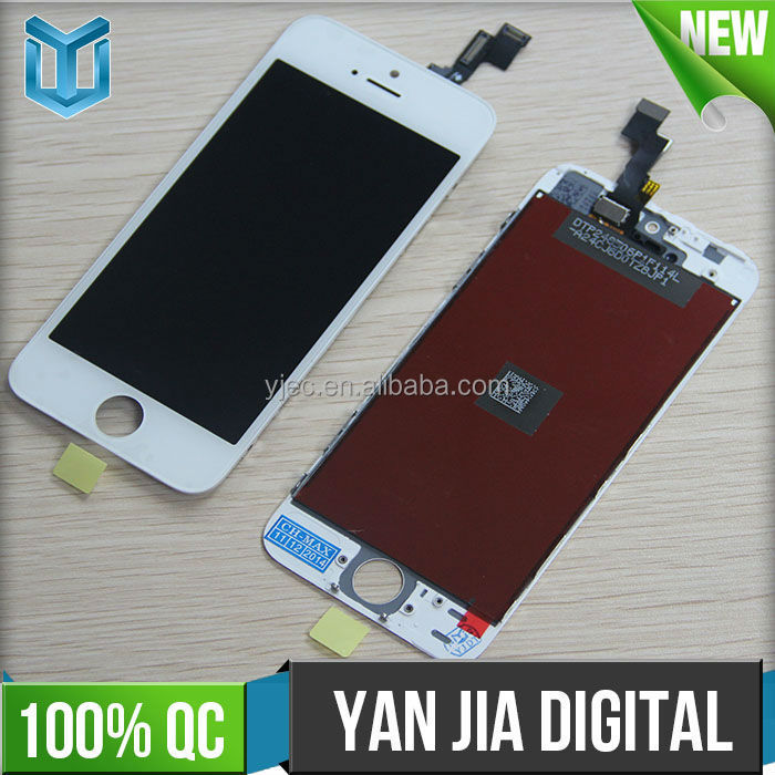 high quality for Iphone 5s <strong>lcd</strong> with glass for Iphone 5s screen replacement