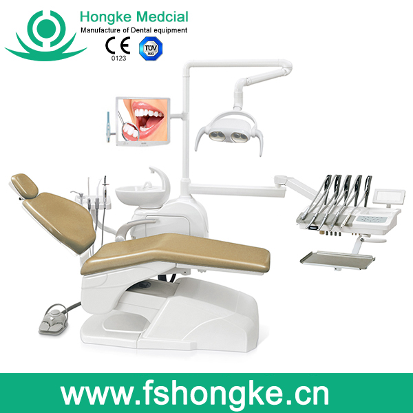 2016 Best Sale Leather Dental Unit school laboratory furniture cheap dental chair