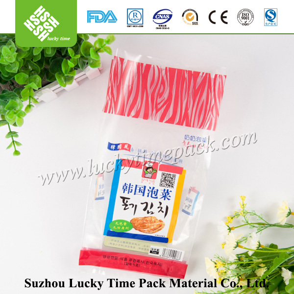 China Supplier See Inside Clear Food Packing HDPE Plastic Bag