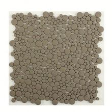 Good quality Square iridescent pearl glass mosaic