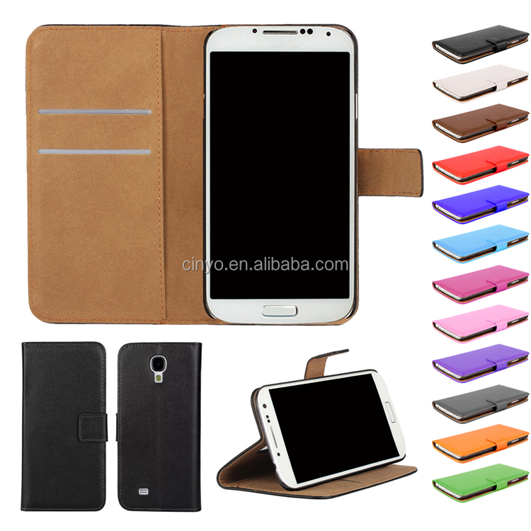 for samsung galaxy s4 case cover, for samsung galaxy s4 wallet leather case with credit cards slots