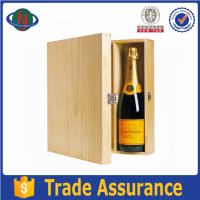 High class custom wooden wine gift packaging box