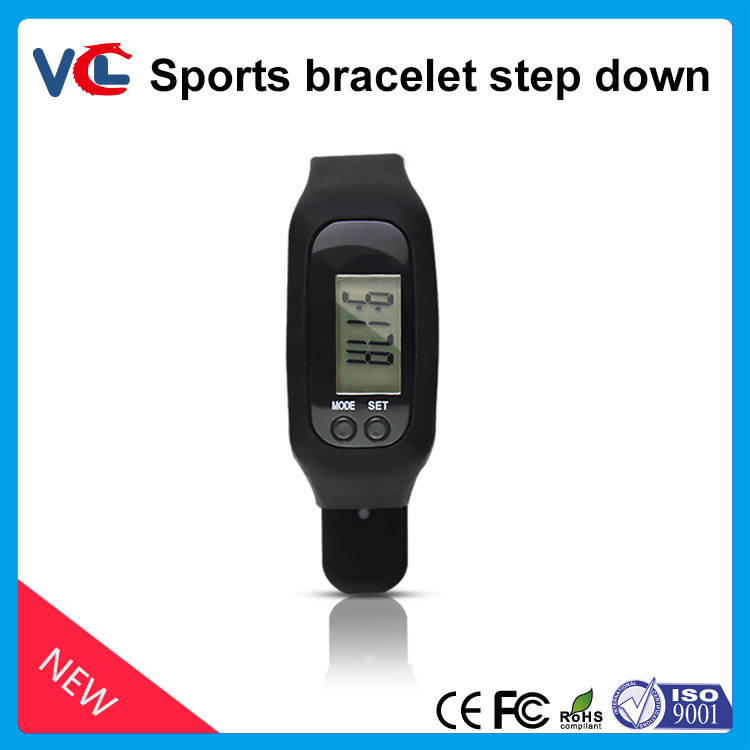 VMH-01 <strong>HOT</strong>!!! Fitness 2D Smart Bracelet Silicone Wristband Sports Pedometer