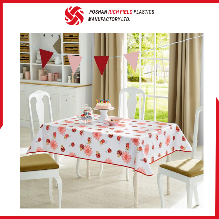 Personalized Custom Peva Restaurant Xmas Tablecloth