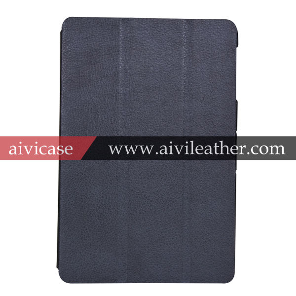 [Black Classic Design] High Quality Leather Cover Case For iPad Mini 2
