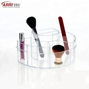 Groovi beauty center sorter injection clear acrylic cosmetic makeup organizer