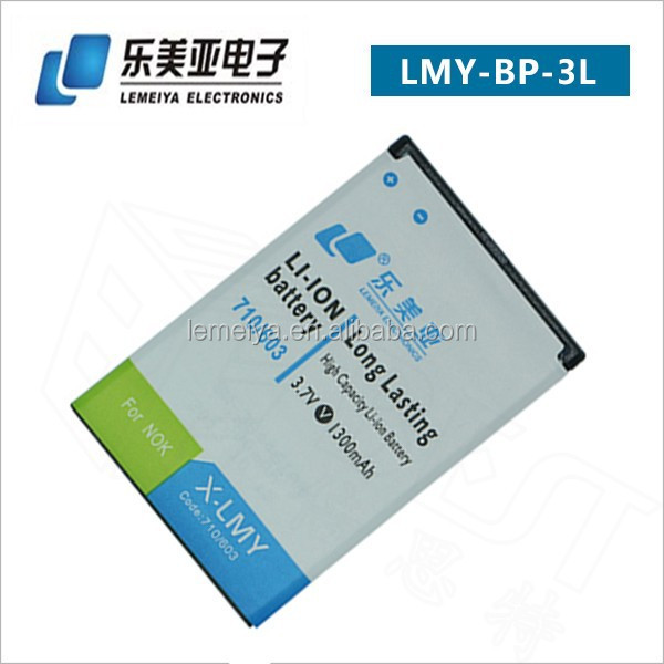 Wholesale anycool phone battery BP-3L for Nokia Lumia 710/603