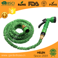 Top Quality Expandable Magic Hose Flexible Garden Hose With Brass Fittings Latex As seen on TV