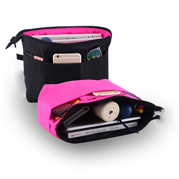 Professional factory customize high quality multi-function handbag pouch bag