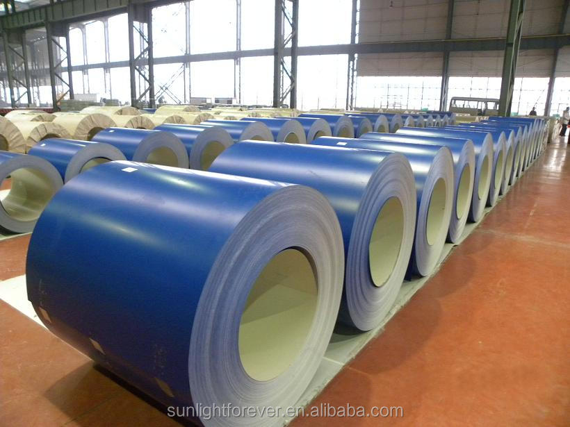 Good quality color coated steel coil / ppgi coil from china supplier/ metal roofing ppgi coils