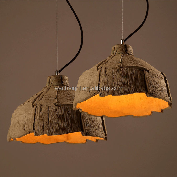 Factory supply Fancy industrial Concrete penant light for indoor decoration