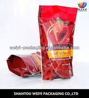 Stand up dried food bag/jujube bag