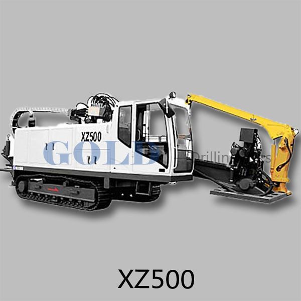 XZ500 full hydraulic horizontal directional drilling rig