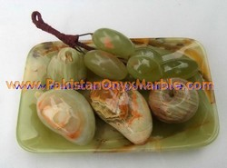 EXPORT QUALITY ONYX FRUITS PLATES HANDICRAFTS