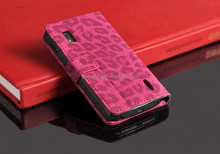 High quality New Leopard Leather Flip case high quality case cover for Google Nexus 4 E960 LG
