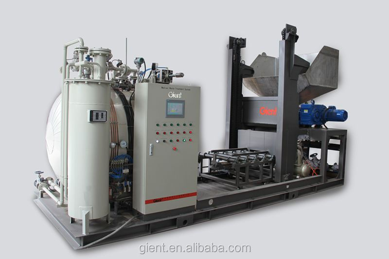 AUTOCLAVE/ BOILER/ SHREDDER/BIN DUMPER/ AUTO TRANSFER LINE--MWO160(Capacity:160kg/cycle; 2t/day)