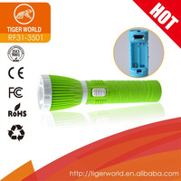 led torch light manufacturers double head green small powerful led torch for africa