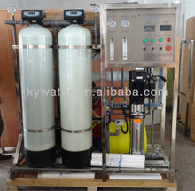 CE Approved KYRO-500 water filter system water treatment plant/destilador de agua industrial