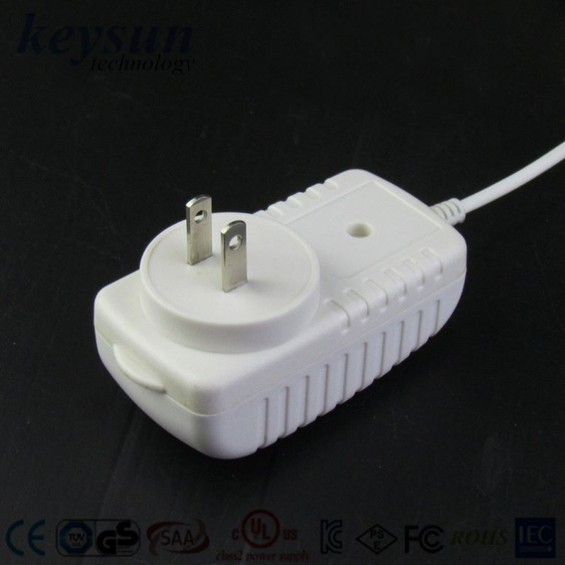 white and black color UL CE certification OEM ODM Mini/micro/dc connector Universal power adapter