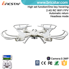 Collapsible deformation toys 2.4G 4ch wholesale rc copter drone with 6-axis gyro and two speeds mode