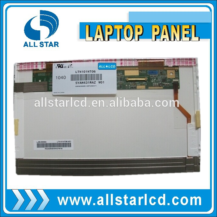 Best offer! cheap lcd panel 10.1 inch laptop spare part LTN101NT06