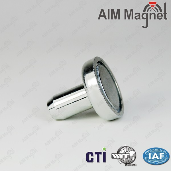 NI-Cu-Ni plated LED lamp magnet