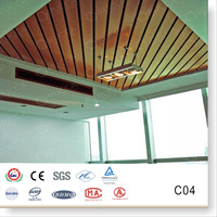 New Design WPC Materials, Foshan Rucca WPC Teak Wood Plane Ceiling Design for Interior Decoration,Home Decor 100*15mm