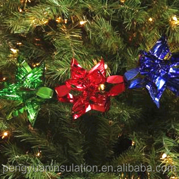 high reflectivity metallized pet cpp film for christmas decoration