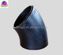 carbon steel seamless asme b16.9 pipe fitting elbows /45 degree sch40 8in steel elbows