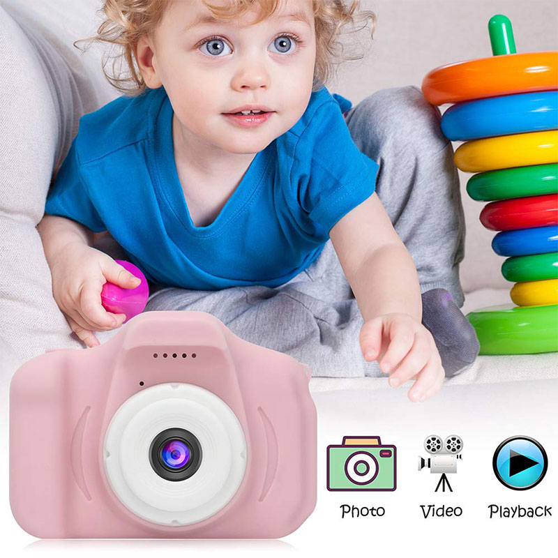 Factory Price Children Digital Photo Camera Kids Video Camera For Thanksgiving Christmas Gifts 3~8 Years Old