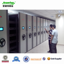 Guangzhou intelligent Filing Cabinets Safe Aisle Powered Mobile Shelving Storage for Mexico market