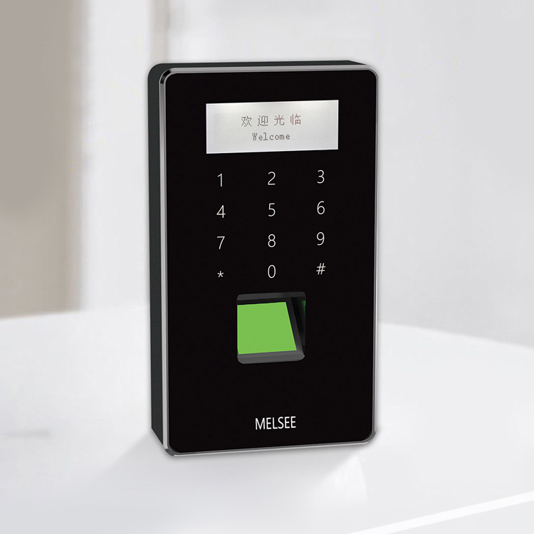 Security office apartment use fingerprint standalone access control with card reader