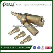3-way universal quick connect air tool/hose coupler/manifold