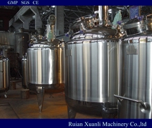 promotional price mixing kettle vessel for adehsive with CE certificate