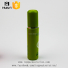 refillable green cosmetic container plastic spray pet bottle