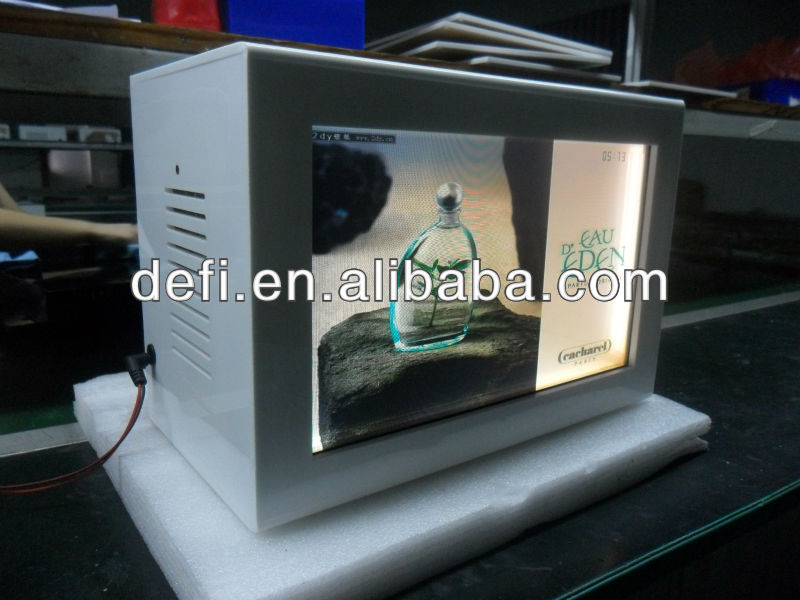 Transparent Video Display, Transparent LCD display, Luxury Goods: Watch,Hand bag, High heel etc.