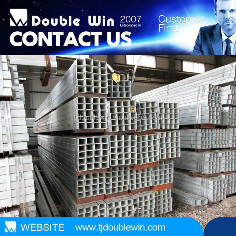 16 inch tube chinese galvanized steel rectangular tube /pipe products for buildings materials