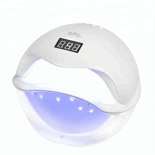 SUN5 48W LED UV Lamp For Nails Gel Varnish Nail Dryer Curing Hard Gel Extension With bottom LCD Display Nail Tools