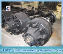 Grade one American type FUWA 14T 16T trailer axle and parts for trailer factory