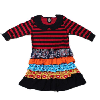 Baby girls multi-layered dress wholesale cheap online clothing party wear tutu dress boutique outfits long sleeve autumn skirts
