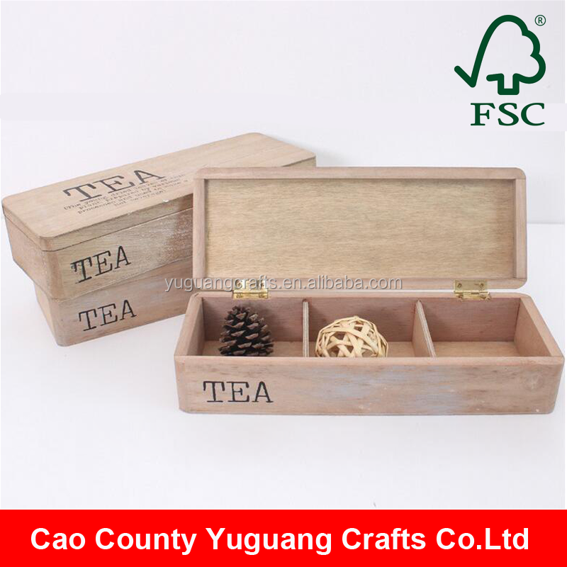 High quality Customized pot vintage crate Wooden shabby chic rustic box