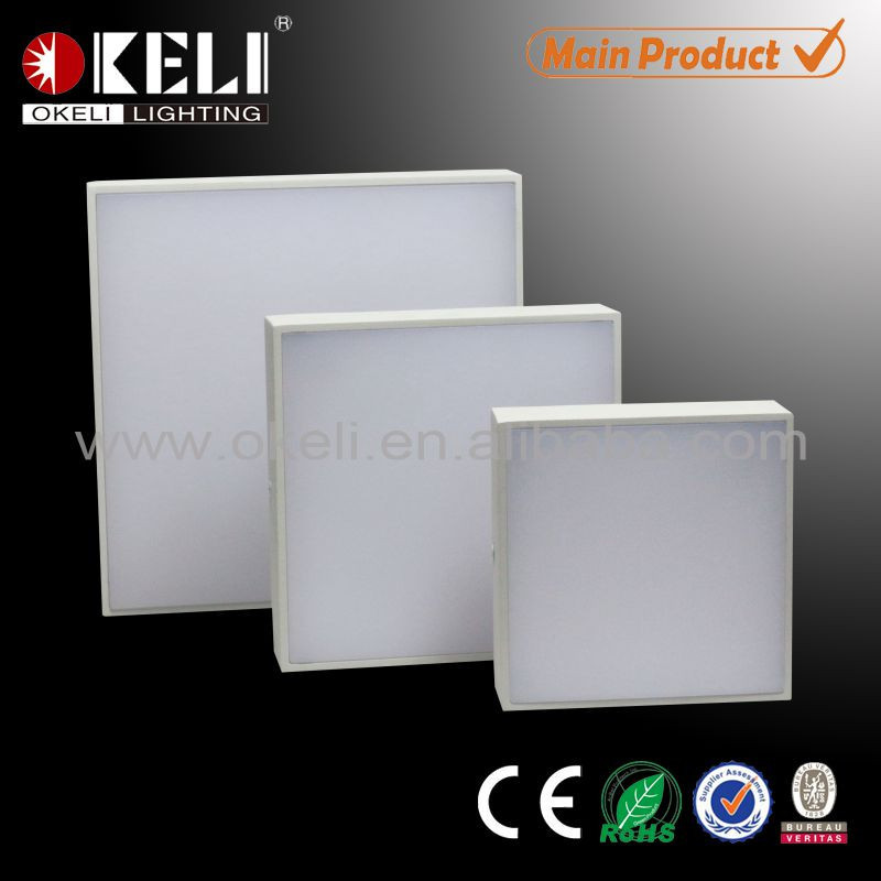 Hot selling wall mounted super bright 18w led ceiling panel light price