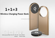 5300mAh Qi Wireless Power Bank External Battery Charger for Samsung Galaxy S6