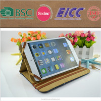 Factory price denim case for iPad Mini 2 frame cover with elastic string